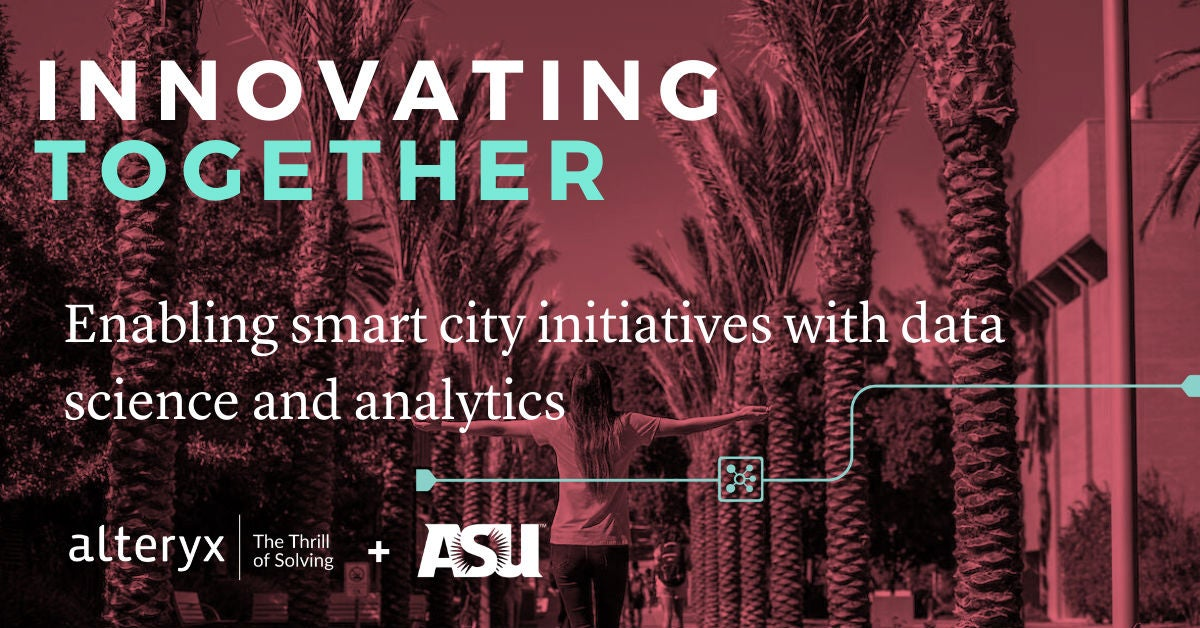 Innovating Together: Enabling smart city initiatives with data science and analytics